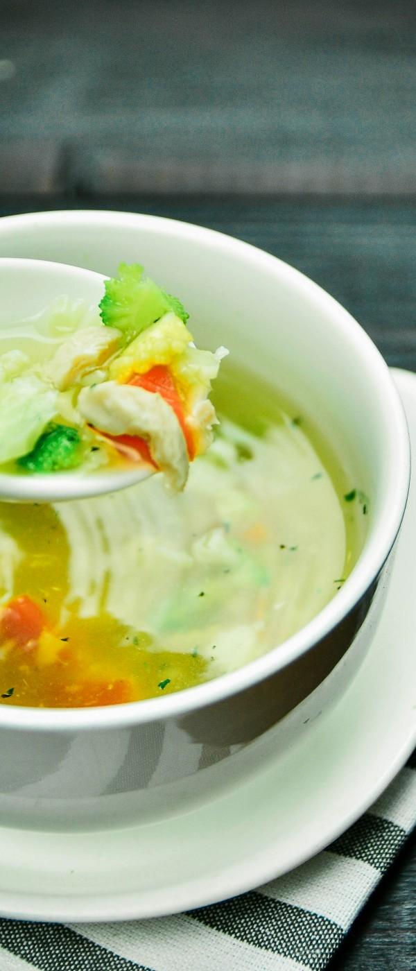 ซุปใสผัก/ไก่